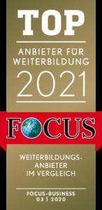 Focus Top Anbieter für Weiterbildungen 2021