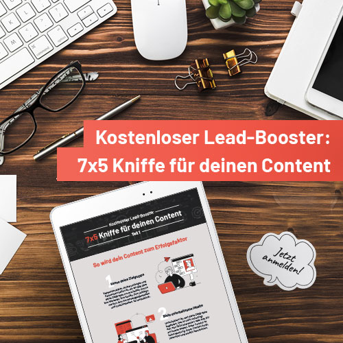 Kostenloser Lead-Booster